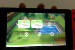 "I accidentally named my Eevee, ""Jonathan"" until I realise its a female in Lets Go Eevee (Sorry for the blurry photo): Jonathan  Pidgey  15/15  More Pokimon  Out  Open Pokimon Bon I accidentally named my Eevee, ""Jonathan"" until I realise its a female in Lets Go Eevee (Sorry for the blurry photo)"
