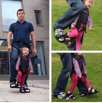 Irish, Pressure, and Shoes: jopara: donotingest:  tinawarriorprincess:  psychmajorpizzamaker:  fight-0ff-yourdem0ns:  optimus-primette:  stunningpicture:  He designed this special shoes, shared between him and his paralyzed daughter just to make her feel the sensation of walking.  WEEP DAFEELS PENETRATE ME  Oh my goodness  This is probably so good for her body, too! Imagine her muscles getting moved in ways they don't normally and she is upright and hopefully not having any pressure spots! This is lovely in so many ways!  This is a wonderful invention, but the man in the picture is one of the testers. He is not the inventor. The inventor was an Israeli woman named Debby Elnatan who developed this with an Irish company for her son.  Keep that last comment in mind, people! We can't keep erasing women's accomplishments like this.  it's these simple but brilliant inventions that really blow my mind