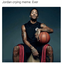 Crying, Funny, and Lol: Jordan crying meme. Ever Lol