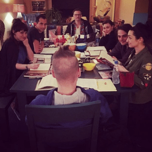 Fucking, Instagram, and Love: jordyjinx:  space_witch666:DUNGEONS AND DRAGONS @xlindseywayx @gerardway @mikeyway @jimmyurine @angryzen @_brigitte._    What a bunch of adorable fucking nerds, I love them..