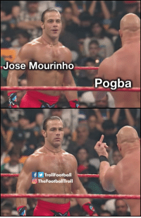 Pogba when he sees Mourinho https://t.co/uISRpCWk5W: Jose Mourinho  Pogba  f y Trol!Football  O TheFootballTroll Pogba when he sees Mourinho https://t.co/uISRpCWk5W