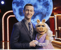 Amy Schumer, Joseph Gordon-Levitt, and Live: Joseph Gordon Levitt and Amy Schumer perform live on stage (2015).