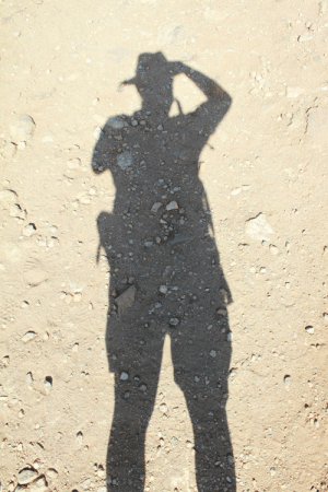 Joshua Tree Hike on a hot dry day - me, becoming the hike: Joshua Tree Hike on a hot dry day - me, becoming the hike