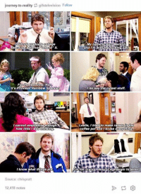 Chris Pratt, College, and Crying: journey-to-reality gifstelevision Follow  I did not graduate college  My name is Burt Macklin  and I'm with th fucking FBI  Forthe last time, Ron  It's Princess Rainbow Sparkle  do say the cutest stuff  I cannot emphasize enough.  the  coffee pot and broke everything  little I wasthinking  I know what things,are  URm not crying okay imiallergic to Merks  Source  chrispratt  12,418 notes Chris Pratt is great :P