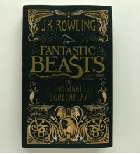 Read it for the third time, it's so amazing!!! 💕💕💕 harrypotter theboywholived thechosenone gryffindor newtscamander fantasticbeasts fbawtft jkrowling fantasticbeastsandwheretofindthem harrypotterfan harrypotterfilm: JR ROWLING  FANTASTIC  BEASTS  AND WHERE  TO FIND THEM  THE  ORIGINAL  SCREENPLAY Read it for the third time, it's so amazing!!! 💕💕💕 harrypotter theboywholived thechosenone gryffindor newtscamander fantasticbeasts fbawtft jkrowling fantasticbeastsandwheretofindthem harrypotterfan harrypotterfilm
