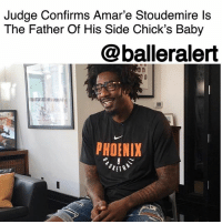 "Amar'e Stoudemire, Child Support, and Family: Judge Confirms Amar'e Stoudemire ls  The Father Of His Side Chick's Baby  @balleralert  PHOENIX Judge Confirms Amar'e Stoudemire Is The Father Of His Side Chick's Baby – blogged by @MsJennyb ⠀⠀⠀⠀⠀⠀⠀ ⠀⠀⠀⠀⠀⠀⠀ Back in August, AmareStoudemire was hit with a lawsuit that claimed he fathered a child outside of his marriage. At the time, 36-year-old Quynn Lovett filed a suit in Florida, demanding permanent child support, $11k in maternity bills and full custody of baby, Zoe Renee. However, the baller fired back, saying he'd already been paying a monthly stipend for the baby, in addition to more than $20k in legal fees from her initial lawsuit in Massachusetts, which was eventually dismissed. ⠀⠀⠀⠀⠀⠀⠀ ⠀⠀⠀⠀⠀⠀⠀ Now, just three months later, there's been a new development in the paternity case. According to Bossip, a Florida family court judge has ruled in favor of Lovett, signing off on docs that name Stoudemire as the father of baby Zoe. ⠀⠀⠀⠀⠀⠀⠀ ⠀⠀⠀⠀⠀⠀⠀ ""Amar'e Stoudemire is found to be the natural and biological father of the minor child,"" the judgment read, which was issued last month. ⠀⠀⠀⠀⠀⠀⠀ ⠀⠀⠀⠀⠀⠀⠀ According to the publication, Stoudemire and Lovett also worked out a custody and child support agreement in a confidential settlement. In the meantime, Stoudemire's wife of nearly six years seems to be handling the news pretty well, as both parties were seen wearing their wedding rings in recent pics, @bossipofficial reports."