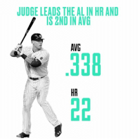 Yankees rookie phenom Aaron Judge is making a run at the Triple Crown ClimbOn: JUDGE LEADS THE ALINHR AND  IS 2ND IN AVG  AVG Yankees rookie phenom Aaron Judge is making a run at the Triple Crown ClimbOn
