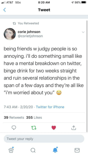 Judging friends: Judging friends