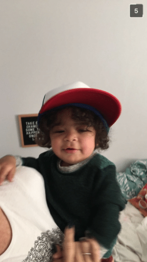 Tumblr, Blog, and Http: juelzsantanabandana: Why this baby a clone of the kid from Stranger Things