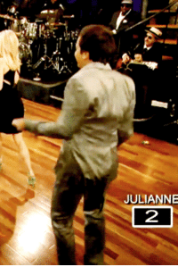 "Dancing, Target, and Yeah: JULIANNE  2 <p><strong>Keep on dancin&rsquo;, YEAH!</strong></p> <p><a href=""http://www.latenightwithjimmyfallon.com/blogs/2012/06/julianne-hough-talks-rock-of-ages-and-plays-ladder-golf/"" target=""_blank"">Watch Jimmy face off against Julianne Hough in Ladder Golf</a>! Lotta dancing going on there.</p>"