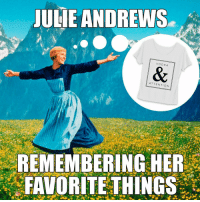 Vodka and attention are our favorite things too. Two days left to get the @shoptotalsororitymove shirt before it's gone. Link to order is in our bio.: JULIE ANDREWS  VODKA  ATTENTION  REMEMBERING HER  FAVORITE THINGS Vodka and attention are our favorite things too. Two days left to get the @shoptotalsororitymove shirt before it's gone. Link to order is in our bio.