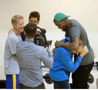 (July 7,2016) Steve Kerr, Bob Myers and Ron Adams greet KD as he arrived into Oakland as a newly acquired member of the Golden State Warriors. WarriorsTalk: (July 7,2016) Steve Kerr, Bob Myers and Ron Adams greet KD as he arrived into Oakland as a newly acquired member of the Golden State Warriors. WarriorsTalk