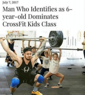 Feminists: Weird but ok by Ichiqar MORE MEMES: July 7, 2017  Man Who Identifies as 6-  year-old Dominates  CrossFit Kids Class  TU Feminists: Weird but ok by Ichiqar MORE MEMES