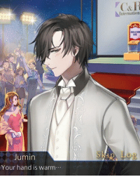 Blushing babe: Jumin  Your hand is warm  Internation  DONATION Blushing babe