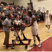 """Repost: @SportsCenter-""""Why We Love Sports Today: MitchellGreathouse, who was diagnosed with spastic quadriplegic cerebral palsy, gets an assist sending the crowd into a frenzy at Freedom High School in NorthCarolina"""" 🏀🙌 @mdevinney_ WSHH: Jun  :A Repost: @SportsCenter-""""Why We Love Sports Today: MitchellGreathouse, who was diagnosed with spastic quadriplegic cerebral palsy, gets an assist sending the crowd into a frenzy at Freedom High School in NorthCarolina"""" 🏀🙌 @mdevinney_ WSHH"""