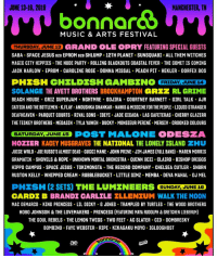 Catfished, Chelsea, and Gucci: JUNE 13-16, 2019  MANCHESTER, IN  bonnard8  MUSIC & ARTS FESTIVAL  THURSDAY, JUNE 13 GRAND OLE OPRY FEATURING SPECIAL GUESTS  SABA SPACE JESUS B2B EPROM B2B SHLUMP 12TH PLANET SUNSQUABI ALL THEM WITCHES  MAGIC CITY HIPPIES . THE NUDE PARTY-ROLLING BLACKOUTS COASTAL FEVER-THE COMET IS COMING  JACK HARLOW EPROM CAROLINE ROSE DONNA MISSAL PEACH PIT HEKLER DORFEX BOS  SOLANGE THE AVETT BROTHERS BROCKHAMPTON GR RL GRIME  BEACH HOUSE GRIZ SUPERJAM NGHTMRE GOJIRA COURTNEY BARNETT GIRL TALK AJR  CATFISH AND THE BOTTLEMEN K.FLAY. ANOUSHKA SHANKAR NAHKO & MEDICINE FOR THE PEOPLE LIQUID STRANGER  DEAFHEAVEN PARQUET COURTS RIVAL SONS IBEYI JADE CICADA LAS CAFETERAS CHERRY GLAZERR  THE TESKEY BROTHERS MEDASIN TYLA YAWEH DUCKY MONSIEUR PERINE MERSIV CROOKED COLOURS  SATURDAY, JUNE 15 POST MALONE ODESZA  HOZTER KACEY MUSGRAVES THE NATIONAL THE LONELY ISLAND HU  JUICE WRLD JOE RUSSO'S ALMOST DEAD GUCCI MANE JOHN PRINE JIM JAMES (FULL BAND) MAREN MORRIS  GRAMATIK SHOVELS & ROPE UNKNOWN MORTAL ORCHESTRA QUINN XCII CLAIR0 BISHOP BRIGGS  HIPPO CAMPUS SPACE JESUS TOKIMONSTA THE RECORD COMPANY CHELSEA CUTLER SNBRN  RUSTON KELLY WHIPPED CREAM RUBBLEBUCKET LITTLE SIMZ MEMBA DEVA MAHAL DJ MEL  PHESH (2 SETS) THE LUMINEERS SUNDAY JUNE 16  CARDE B BRANDI CARLILE ELLENTUM WALK T  MAC DEMARCO KING PRINCESS LIL DICKY. G JONES TRAMPLED BY TURTLES THE WOOD BROTHERS  HOBO JOHNSON & THE LOVEMAKERS PRINCESS (FEATURING MAYA RUDOLPH&GRETCHEN LIEBERUM)  THE SOUL REBELS THE LEMON TWIGS TWO FEET AC SLATER CID DOMBRESKY  BOMBINO. FAYE WEBSTER RIPE KIKAGAKU MOYO IGLOOGHOST  ac  oonnor. Bonnaroo would be the perfect place to go see @phish