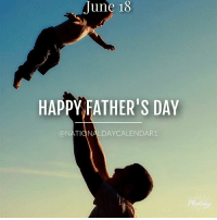 June 18, 2017 – FATHER'S DAY – NATIONAL GO FISHING DAY – NATIONAL SPLURGE DAY – NATIONAL TURKEY LOVERS' DAY: June 18  HAPPY FATHER'S DAY  TIONALD  LDAYCALENDAR1 June 18, 2017 – FATHER'S DAY – NATIONAL GO FISHING DAY – NATIONAL SPLURGE DAY – NATIONAL TURKEY LOVERS' DAY