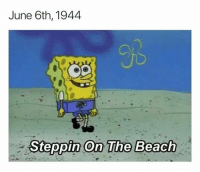 America, Beach, and The Beach: June 6th, 1944  JS  Steppin On The Beach America was like https://t.co/DJjOiALYxA