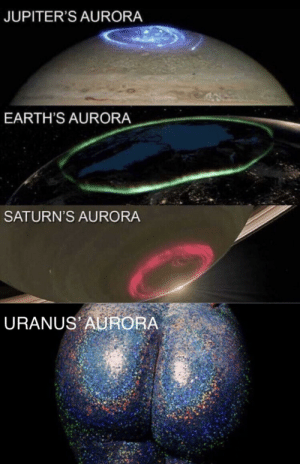Dank, Memes, and Target: JUPITER'S AURORA  EARTH'S AURORA  SATURN'S AURORA  URANUS AURORA Would you like to learn more? by _xTWERCULESx_ MORE MEMES