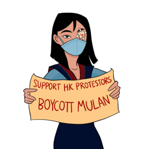 Being Alone, Mulan, and Police: JUPPORT HK PROTESTORS  'BOYCOTT MULAN seagog:  i'm going to take a moment to deviate from my usual posts, so bear with me: the actress starring in the 2020 Mulan remake, Liu Yifei, has just voiced her support for the Hong Kong police. these are the police who have been brutalizing protestors for several months now with batons, tear gas, and rubber bullets, and recently blinded a young medic in one eye. Liu has a social media platform of 65 million followers, and has been in the national spotlight since her casting - her words have influence and impact. her conscious decision to stand by the HK police sends a clear message: that violence against civilians is acceptable as a means of control, intimidation, and suppression. this breaks my heart. as a person of Chinese descent, Mulan's character was a source of inspiration and empowerment throughout my childhood, and I'm sure I wasn't alone in my excitement to see the remake, but I'm even more saddened and disgusted by Liu Yifei's support of the police. note that Liu is a naturalized American citizen, and reaps the benefits of freedom and democracy in the US while supporting those who are fighting to silence it in China. if Mulan were real and here now, she would be out on the streets of Hong Kong, fighting for the fundamental rights of 7 million Hong Kong citizens. please, please, please consider boycotting this movie. skip it, pirate it, do what you need to do, but show that you won't stand for police brutality.