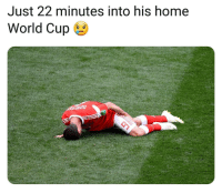 Memes, World Cup, and Home: Just 22 minutes into his home  World Cup 6 Dont wish this upon anyone ⚽️😮😥 Dzagoev Russia Injury