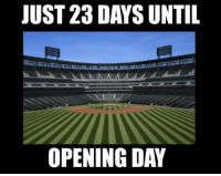 Mlb, 28 Days, and Im So: JUST 28 DAY SUNTIL  OPENING DAY I'M SO EXCITED
