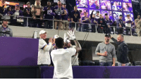 Memes, Game, and Vikings: Just a little game of catch between @stefondiggs and some @Vikings fans! #SKOL  📺: #NOvsMIN (8:20pm ET) on NBC #SNF https://t.co/J0ua8jwq5w