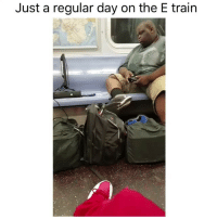 Funny, Life, and Memes: Just a regular day on the E train When black ops 3 is life