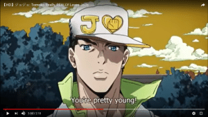 Just a reminder that jotaro looks pretty young: Just a reminder that jotaro looks pretty young