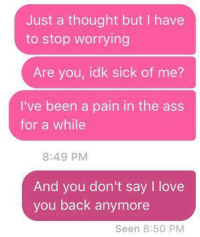 he doesn t say i love you back anymore