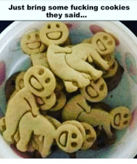 cookie: Just bring some fucking cookies  they said...  02