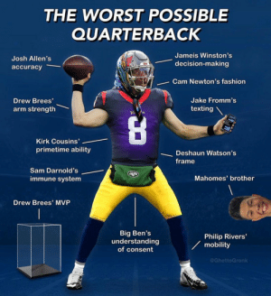 Just built the worst possible QB ever https://t.co/1h92aVw74z: Just built the worst possible QB ever https://t.co/1h92aVw74z