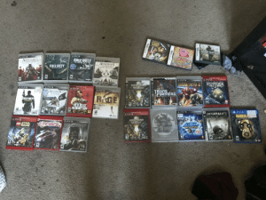 Just cleaned out a basket of ps3 and ds games and i might cry, left side i have to get rid of because they don't work, or don't have a disc for and right side I'm going to play asap: Just cleaned out a basket of ps3 and ds games and i might cry, left side i have to get rid of because they don't work, or don't have a disc for and right side I'm going to play asap