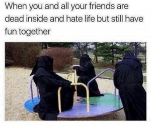 Just enjoying life with friends: Just enjoying life with friends