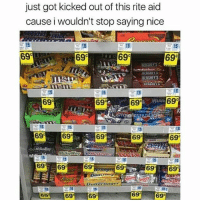 😈😂😂😂😂😂 pettypost pettyastheycome straightclownin hegotjokes jokesfordays itsjustjokespeople itsfunnytome funnyisfunny randomhumor sexualhumor: just got kicked out of this rite aid  cause i wouldn't stop saying nice  69°  699  69C  HEhSHETS  699  69  69C  69%  69  69  69 69  69  69  69  69e 😈😂😂😂😂😂 pettypost pettyastheycome straightclownin hegotjokes jokesfordays itsjustjokespeople itsfunnytome funnyisfunny randomhumor sexualhumor