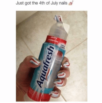 Happy Fourth of July you beautiful people! Hope you get wasted and have sex with your ex's brother. If he has a big one, give him my number.: Just got the 4th of July nails Happy Fourth of July you beautiful people! Hope you get wasted and have sex with your ex's brother. If he has a big one, give him my number.
