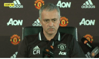 """Jose Mourinho wears 'CR' on his shirt in tribute to Claudio Ranieri and says """"Leicester should name the stadium after him"""". 😎👏: JUST IN  AON  adidas  CR  AON  adidas  AON Jose Mourinho wears 'CR' on his shirt in tribute to Claudio Ranieri and says """"Leicester should name the stadium after him"""". 😎👏"""