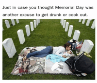 Memorial Day: Just in case you thought Memorial Day was  another excuse to get drunk or cook out.