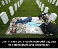 Memorial Day: Just in case you thought memorial day was  for getting drunk and cooking out.