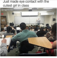 Food, Funny, and Lol: Just made eye contact with the  cutest girl in class  @motewtz This picture was is a repost and it said I'm ordering pizza and now I really want dominos cheese pizza -Joel 𓅓 ♛ 𓅓 ♛ 𓅓 ♛ tumblrtextpost tumblrposts textpost tumblr shrek followforfollow follow posts like funnythings 😂 same funny haha loltumblr lol relatable noticemehdaddy rarepepe funnythings spamforspam funnytextposts love meme funnystuff pepe food spam followme lol