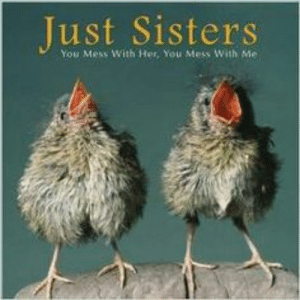 Happy Sisters Day Meme | www.picturesso.com: Just Sisters  You Mess With Her, You Mess With Me Happy Sisters Day Meme | www.picturesso.com