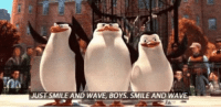 Arsenal's defence when hit by a counter attack. https://t.co/6NZSdXXvDC: JUST SMILE AND WAVE, BOYS. SMILE AND WAVE Arsenal's defence when hit by a counter attack. https://t.co/6NZSdXXvDC