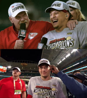 """Just the beginning for Andy Reid & Patrick Mahomes?  """"The scary part is [@PatrickMahomes] is gonna even get better with time."""" #ChiefsKingdom  📺: #SBLIV Championship Parade 