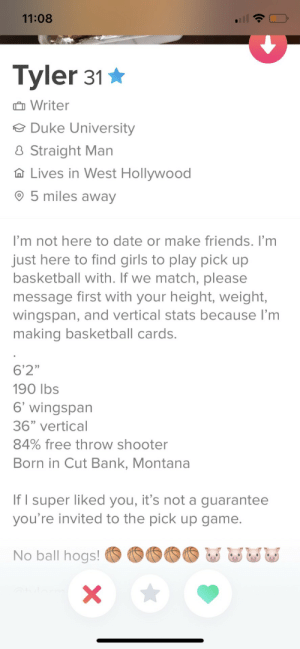 Just trying to play some pick up basketball: Just trying to play some pick up basketball