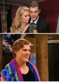 Paris Hilton, Hannah Montana, and Hilton: just want to make sure everyone is aware that the guy Paris Hilton is engaged to is none other than Hottie Lamottie with the swimmers body from Hannah Montana https://t.co/UyDbRjhFlr