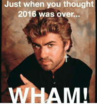 Love, Memes, and Thought: Just when you thought  2016 was over...  WHAM ITS ALL LOVE