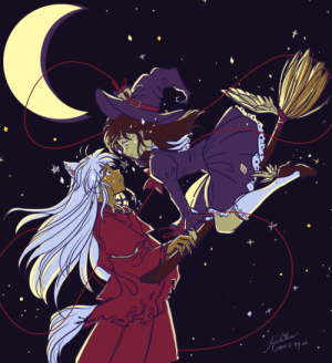 "justafewsmallsteps: Annual offering of my Witch! AU ""Now You're Mine"" where Kagome is modern witch who makes Inuyasha her familiar. You can read part 1 and part 2. Time to get hype for the holiday! : justafewsmallsteps: Annual offering of my Witch! AU ""Now You're Mine"" where Kagome is modern witch who makes Inuyasha her familiar. You can read part 1 and part 2. Time to get hype for the holiday!"