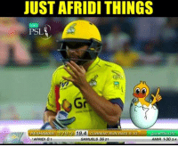 Golden duck :p :3    -Devil-: JUSTAFRIDI THINGS  PSL  PESHAWAR 79.3 79 A CURRENT RUN RATE g 10  @thepsLt20  AFRIDI 01  SAMUELS 36 21  AMIA 1-30 34 Golden duck :p :3    -Devil-