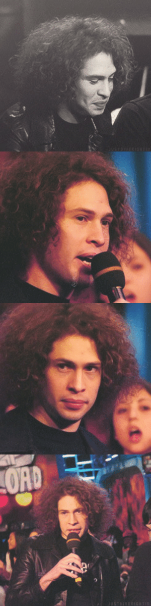 Tumblr, Blog, and Http: justdiverightin: Photoset of Ray Toro at Fuse Daily Download, 2005. (x) -requested by frankaholic