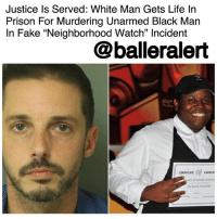 """Fake, Family, and Life: Justice Is Served: White Man Gets Life Irn  Prison Unarmed Black Man  In Fake """"Neighborhood Watch"""" Incident  For Murdering  @balleralert Justice Is Served: White Man Gets Life In Prison For Murdering Unarmed Black Man In Fake """"Neighborhood Watch"""" Incident - blogged by @MsJennyb ⠀⠀⠀⠀⠀⠀⠀ ⠀⠀⠀⠀⠀⠀⠀ Back in 2016, a North Carolina man, claiming to be part of """"neighborhood watch,"""" called 911 to warn the operators that he was going to kill the """"hoodlums"""" in his neighborhood. ⠀⠀⠀⠀⠀⠀⠀ ⠀⠀⠀⠀⠀⠀⠀ """"I'm on neighborhood watch. I am going to have the neighborhood meet these hoodlums out here racing up and down the street,"""" Chad Copley said to the emergency operator. """"It's 1 in the morning. There's some devil in them. They have firearms and we're going to secure our neighborhood. If I was you, I would send PD out here as quickly as possible,"""" later adding, """"I'm going to kill them."""" ⠀⠀⠀⠀⠀⠀⠀ ⠀⠀⠀⠀⠀⠀⠀ After his conversation with the 911, Copley fired his gun and struck 20-year-old KourenRodneyBernardThomas. He then redialed 911 to explain the incident, claiming one of the boys brandished a gun. ⠀⠀⠀⠀⠀⠀⠀ ⠀⠀⠀⠀⠀⠀⠀ However, upon arrival, officials found an unarmed Thomas with a gunshot wound. He was quickly taken to a local hospital, where he was then pronounced dead. ⠀⠀⠀⠀⠀⠀⠀ ⠀⠀⠀⠀⠀⠀⠀ Shortly after the incident, Thomas' friend explained that their actions were innocent and completely opposite of Copley's claims. In fact, David Walker said he and Thomas tried to get into a party on Copley's block, but when they couldn't get immediate access, they decided to leave. ⠀⠀⠀⠀⠀⠀⠀ ⠀⠀⠀⠀⠀⠀⠀ While Walker's story was slightly different from Copley's, the end result was the same-Thomas was shot. ⠀⠀⠀⠀⠀⠀⠀ ⠀⠀⠀⠀⠀⠀⠀ During the trial, Copley, who the family attorney named 'George Zimmerman 2.0', maintained he fired in self-defense against the group of armed men. However, after a cross-examination, Copley admitted that he saw no gun and that there wasn't even a neighborhood watch. ⠀⠀⠀⠀⠀⠀⠀ ⠀⠀⠀⠀"""